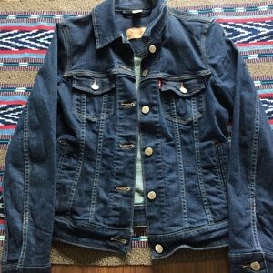 Levi's Dark Denim Jacket
